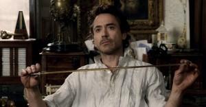 Шерлок Холмс. Кадр из фильма.