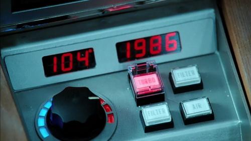 Пульт управления машиной времени