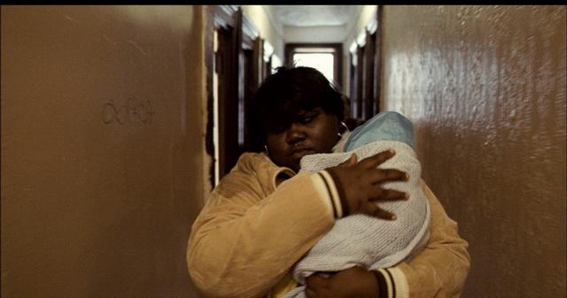 Клариса Джонс и её ребёнок