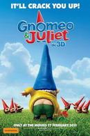 """Постер к мультфильму """"Гномео и Джульетта 3D"""""""